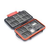 Caruba memóriakártya tartó MCC-7, USB 3.0 kártyaolvasóval (SD, MicroSD)