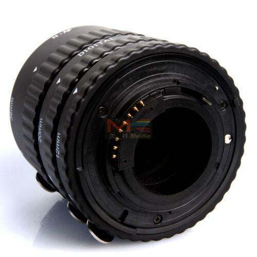 Meike Nikon AF közgyűrű sor műanyag bajonettel