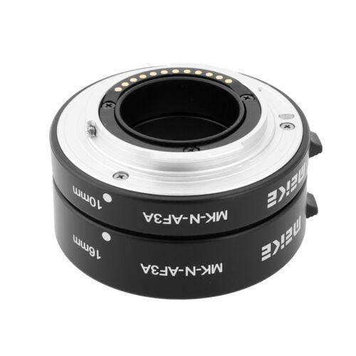 Meike Nikon AF közgyűrűsor fém vázzal MILC fényképezőgéphez