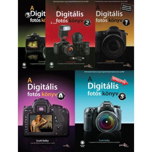 A digitális fotós könyv 1-5. könyvcsomag