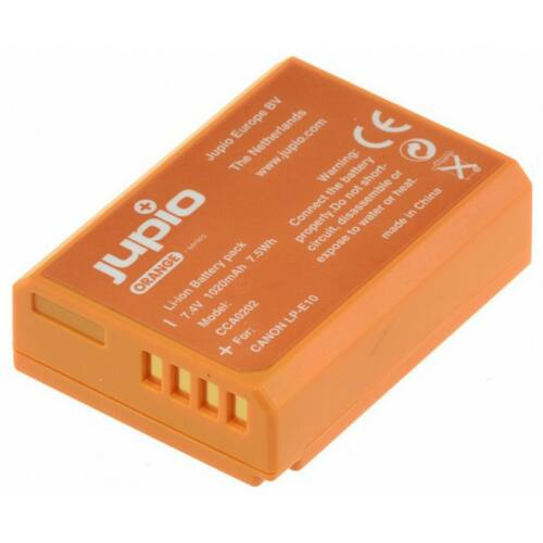 Jupio Canon LP-E10 Orange